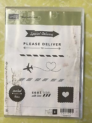 Stampin Up Sent With Love Stamp Set