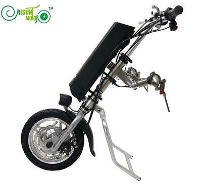 36V 250W Electric Handcycle Wheelchair Conversion Kits + 8.8AH Li-ion Battery