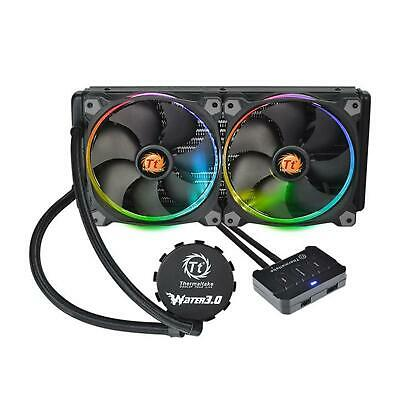 Thermaltake Water 3.0 Riing RGB 280 Intel AMD Desktop Liquid CPU Cooler