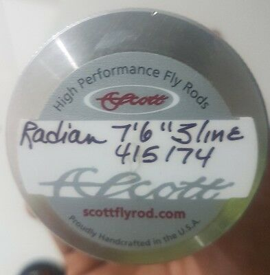 Scott radian 3wt fly rod