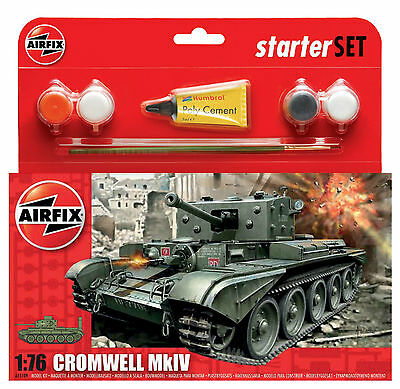 Airfix Starter Set A55109 Cromwell MkIV - 1:76 Scale