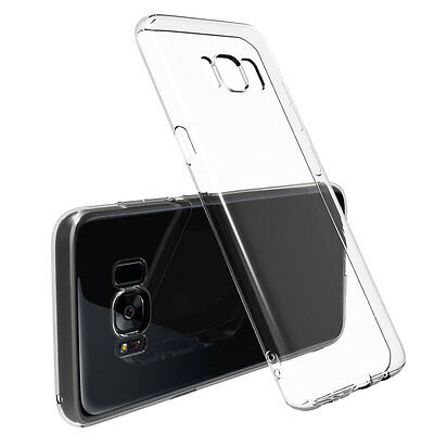 Ultra Slim Transparent Clear Silicone TPU Soft Case Cover for Samsung Galaxy S8P
