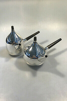 Georg Jensen Sterling Silver Henning Koppel Coffee and Teapot with Sugar Bowl no