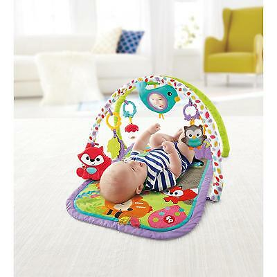 Fisher-Price 3-in-1 Musical Activity Gym Mat Baby Toys Developmental