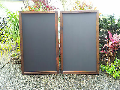 Timber Framed Menu Chalkboard Blackboard Restaurant Cafe Bar Bistro Coffee Shop