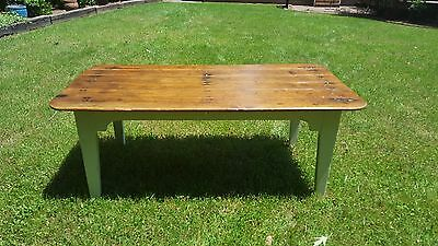 19th CENTURY NC FARM TABLE