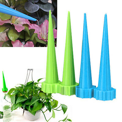 4pcs Automatic Self Watering Irrigation Spike Garden Plant Drip Sprinkler  New