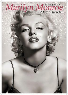 Marilyn Monroe 2018 Calendar Large Uk Poster Size By Oc + Free Uk Postage !!