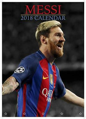 Lionel Messi 2018 Calendar Large Uk Poster Size Wall By Oc + Free Uk Postage !!