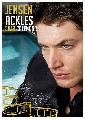 Jensen Ackles Calendar 2018 Large Uk A3 Wall Poster Size Sealed By Oc Calendars