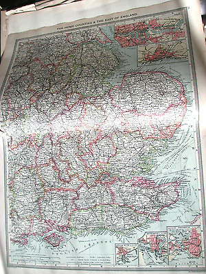 Harmsworth Universal Atlas Home Counties & East of England