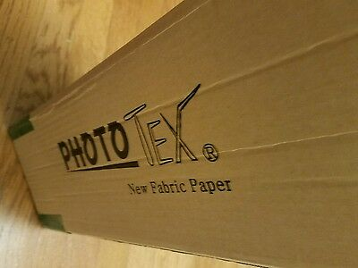 "Photo Tex New Fabric Paper 42"" x 100 ft. FREE SHIPPING"