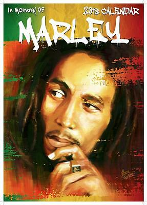 Bob Marley Calendar 2018 Large Uk A3 Wall Poster Size New Sealed By Oc Calendars