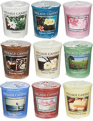 Village Candle - SCENTED VOTIVE CANDLE  - Choose Your Fragrance