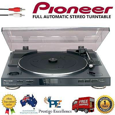Pioneer PL-990 Vinyl Turntable Player Automatic 33-45RPM Hands-off Operation NEW