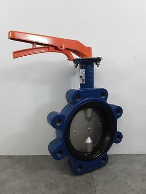 Wolseley Jet PN 160 DJLM Butterfly Valve 16 BAR 316 Stainless DN150 6""