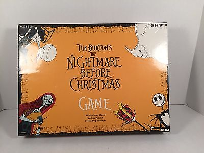 Nightmare Before Christmas Board Game Tim Burton Complete