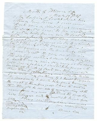 Mouth Of Wilson Grayson County Virginia Elkville North Carolina Letter 1856