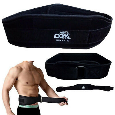 Weight Lifting Belt Body Building Exercise Gym Training Back Support