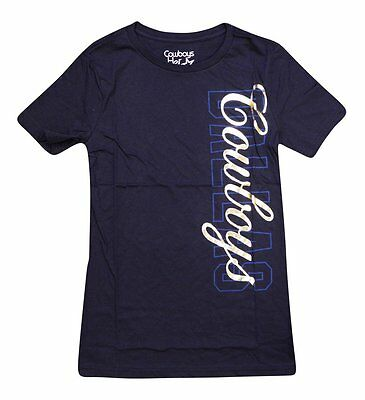 068c93a33 LADIES NFL DALLAS Cowboys Short Sleeve sheer T-Shirt Top~New With ...