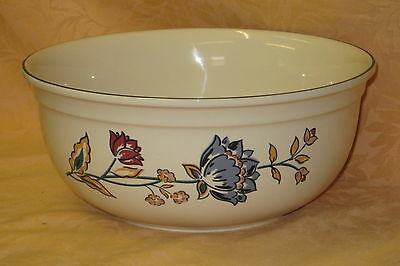 UNUSED Boots Camargue Oven to Tableware Large Fruit / Salad Bowl - MADE IN UK