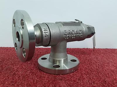 Broady Pressure Relief Valve Type 26112 Set At 10BAR Stainless Steel