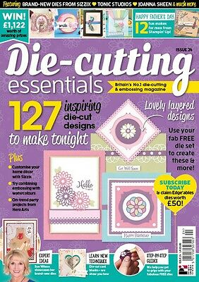 Die Cutting Essentials Magazine Issue 24 June 2017 with Mix & Matt nesting Dies