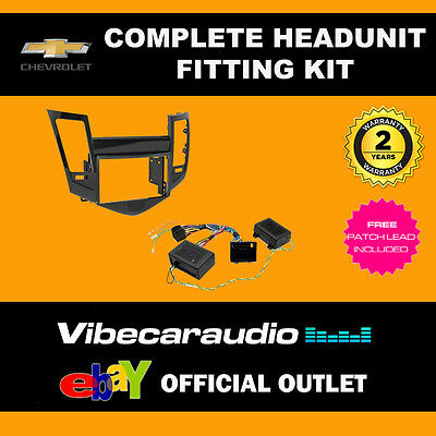 Connects2 CTKCV01 Chevrolet Cruze 2008> Complete Double Din Fascia Fitting Kit