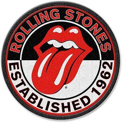 Rolling Stones Established 1962 Official Patch