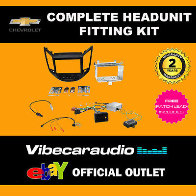 Connects2 CTKCV04 Chevrolet Orlando 2011 Complete Double Din Fascia Fitting Kit