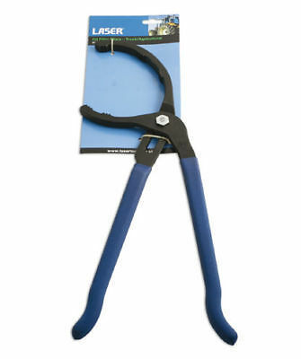 Laser 4876 Oil Filter Pliers 95 - 178mm  Manufactured Forged Medium Carbon Steel