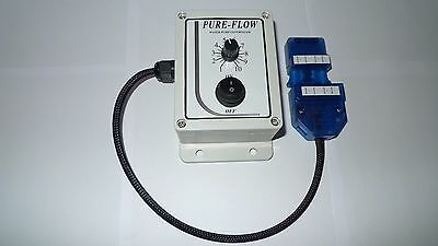 12v Water Pump Flow/speed Controller for Window Cleaning Water Fed Pole
