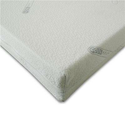 100% MEMORY FOAM TOPPER WITH COOLMAX COVER 3FT, 4FT, 4FT6, 5FT, 6FT, IKEA Sizes