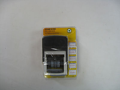 Stamp-Ever 5 in 1 Self Inking Date Stamper