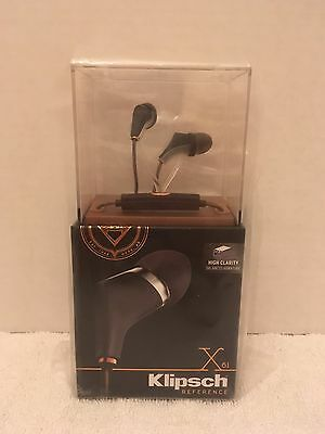 Klipsch Reference Series X6i In-Ear Headphones (Black) - 1015195