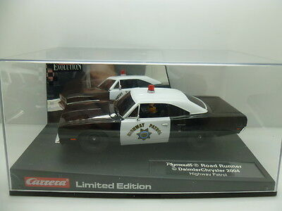 Carrera 25787 Evolution Plymouth Road Runner, Highway Patrol Limited Edition, mi