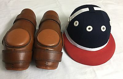 Polo Riding Knee Guard Helmet For Kids- 8 To 16 Year Ladies Size