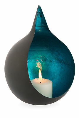 NEW Point Iron Votive with Blue Inside