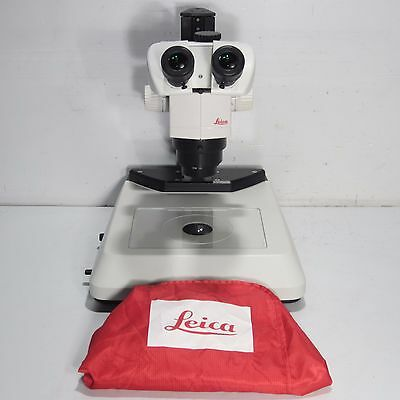 Leica M80 Trinocular Stereo Microscope With 1X Objective And Light Stand