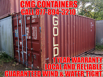 Shipping Containers:  20' Storage Containers / Shipping Containers / Miami, Fl