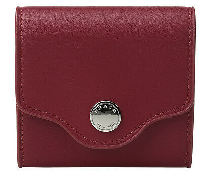 NWT Coach 65083 True Red Leather Post It Note Case