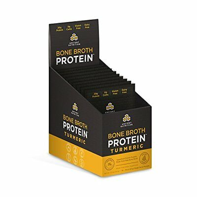 Ancient Nutrition Bone Broth Protein - Turmeric Packets