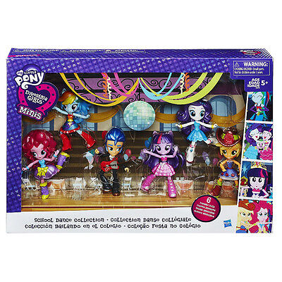 My Little Pony EQUESTRIA GIRLS MINIS School Dance Collection 6 POSEABLE DOLLS
