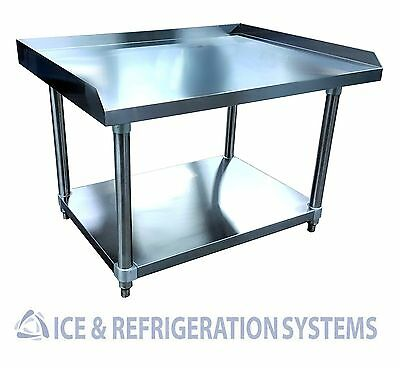 """Stainless Steel Commercial 36"""" Equipment Stand, Kitchen Storage Worktable SE2836"""