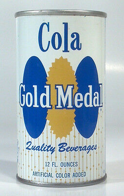 Vintage Gold Medal Cola Steel Soda Pop 12oz Can St Paul MN
