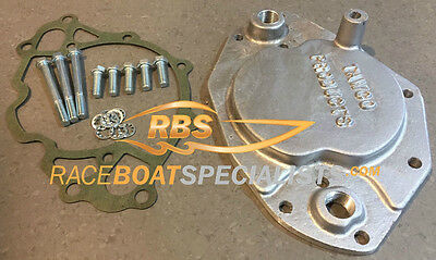 Ford Cleveland 351 V8 Water Pump Blank Off Plate With Water Inlet Boat Ski