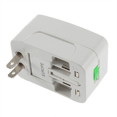 All in One International Travel Power Charger Universal Adapter AU/UK/US/EU A#