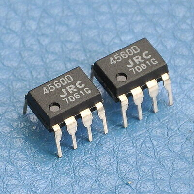 50x JRC Dual Operational Amplifier IC NJM4560D,NJM4560