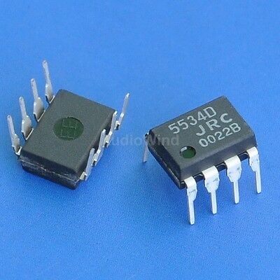50x JRC Operational Amplifier IC NJM5534D,NJM5534