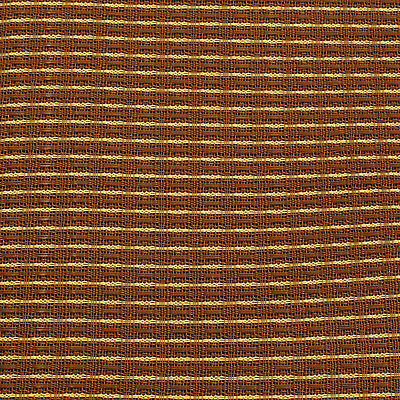 "Cabinet Grill Cloth, Oxblood Red and Tan, 34"" Width"